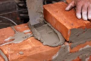 causa de los ladrillos de cemento